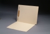 11 pt Manila Folders, Full Cut 2-Ply Super End Tab, Letter Size, Fastener Pos #1 (Box of 50)