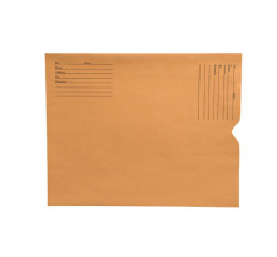28lb Brown Kraft Negative Preserver, Open End, Standard Imprint, 11-1/2&#34 x 14-1/2&#34 (Ca...