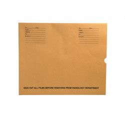 "32lb Brown Kraft Negative Preserver, Open End, Standard Imprint, 14-1/2"" x 17-1/2""..."