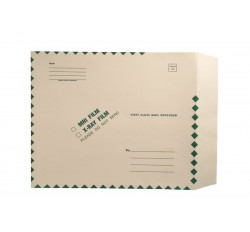 "X-Ray Film Mailers, 11 pt Manila, 15"" x 18"", Ungummed, String and Button Closure (..."
