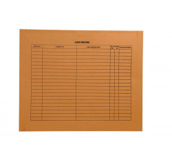 "32lb Brown Kraft Negative Preserver, Open Top, Standard Imprint, 14-1/2"" x 17-1/2""..."