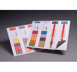 Opaque Conversion Labels, 2-1/2&#34 W x 8&#34 H (Carton of 100)